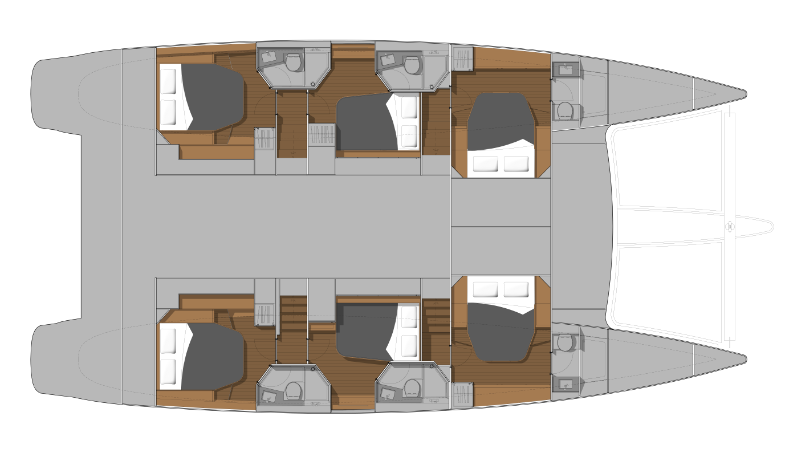 Ipanema 58 - Charter layout