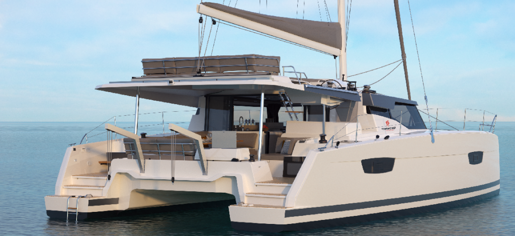 New FP45 - Fountaine Pajot Croatia mooring