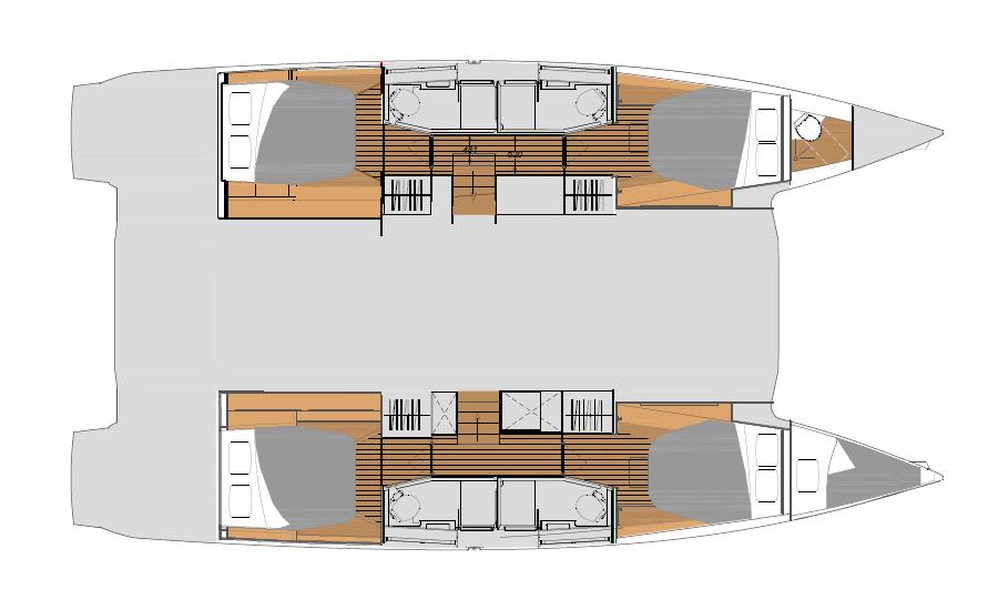 New FP45 - Quatuor layout