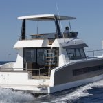 FP Motor Yacht 37 - Mavigation speed