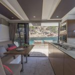 FP Motor Yacht 37 - Saloon & Kitchen