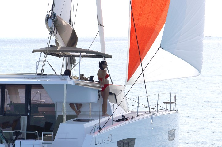 Lucia 40 – navigation 1