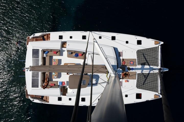 Ipanema 58 - mooring aerial view