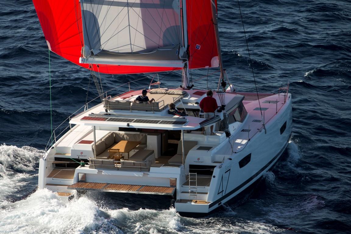 Saona 47 – Sailing
