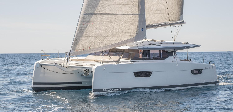 Astrea 42 sailing catamaran Croatia
