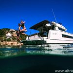 Motor Catamaran MY 37 - Charter Croatia Mooring