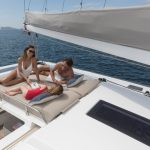 Astrea 42 - Sunbathing on flybridge