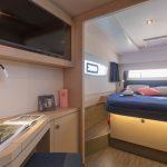 Astrea 42 - Master cabin & bed