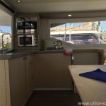 FP Lucia 40 Catamaran Charter Croatia Kitchen