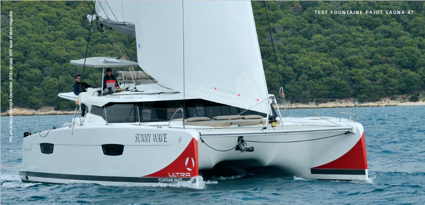 FP Saona 47 - Sailing
