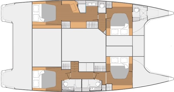 SABA 50 – Layout 4 cabins