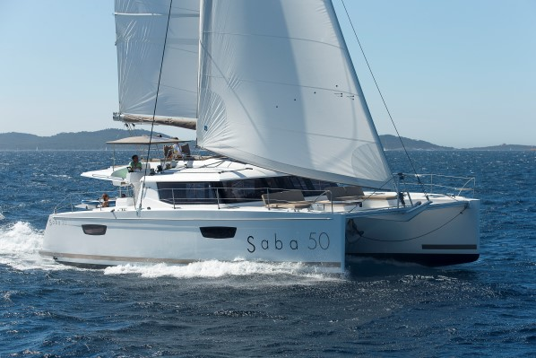 FP SABA 50 – sailing