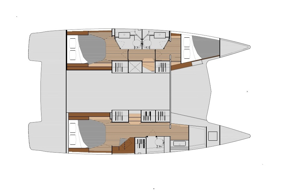 Lucia 40 - Maestro owner layout