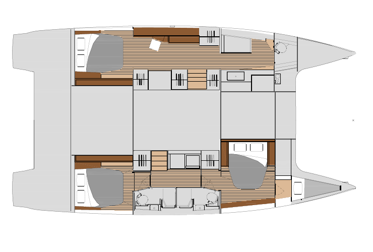 Saona 47 - Maestro layout