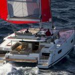 Saona 47 - Navigation with gennaker
