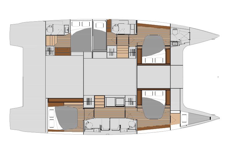 Saona 47 - Quintet layout