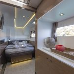 FP Motor Yacht 37 - Master cabin with bed
