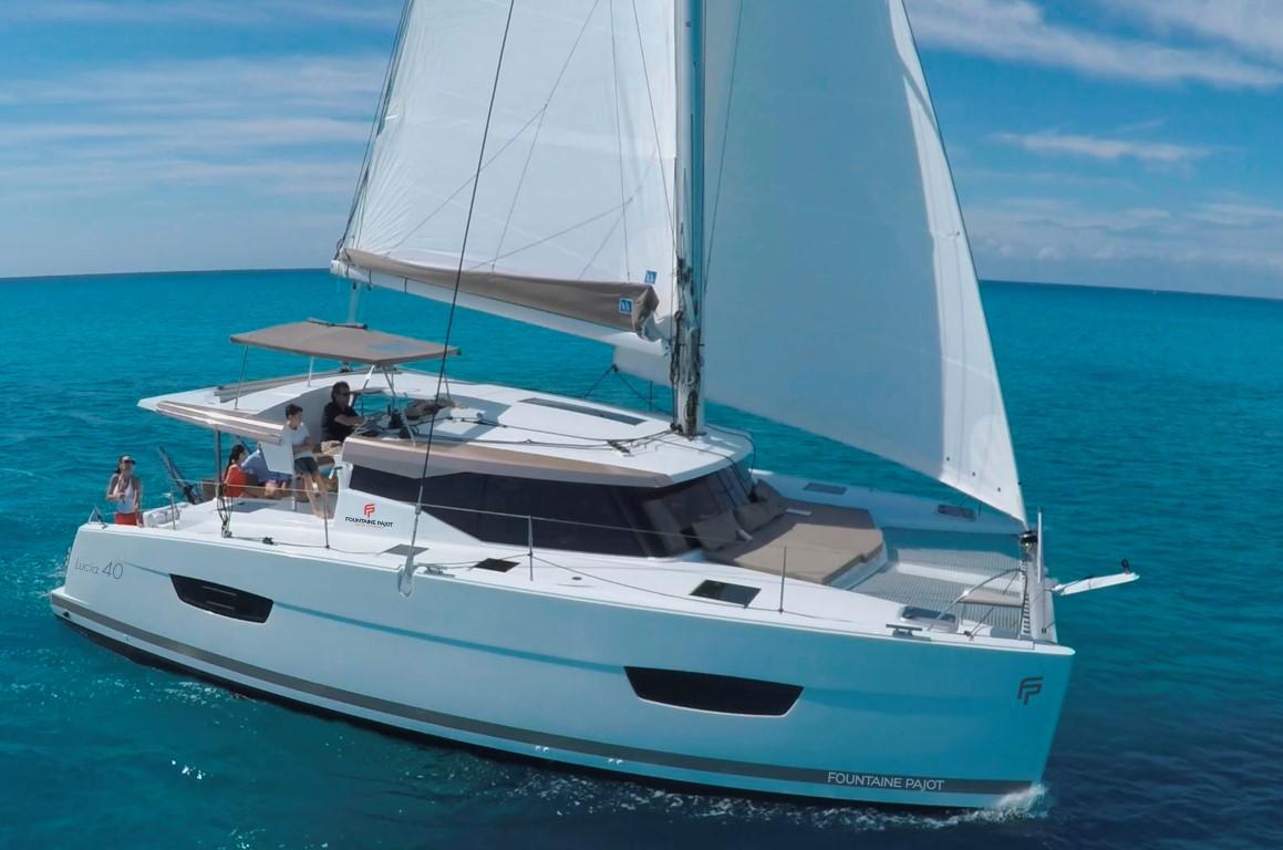 Lucia40 sailing boat