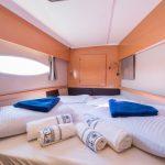 FP Helia 44 - Catamaran Charter Croatia Cabin