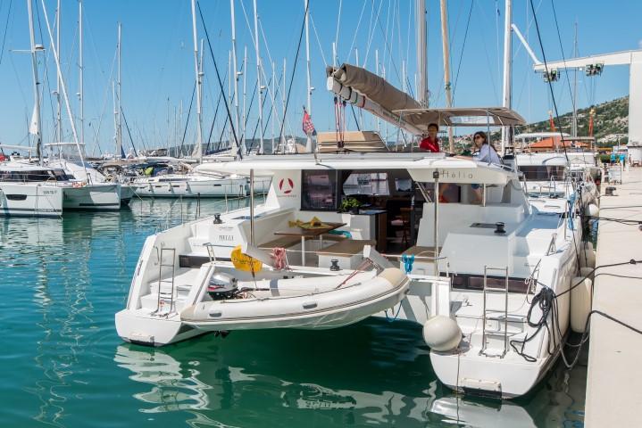 FP - Helia 44 Catamaran charter Croatia