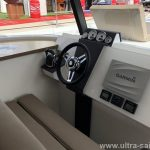 Motor Catamaran MY 37 - Charter Croatia Inside steering