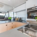 Motor Yacht 44 - Power Catamaran Kitchen
