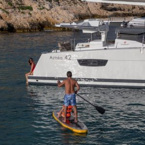 12/06/2018, Marseille (FRA,13), Chantier Fountaine-Pajot, Astrea 42