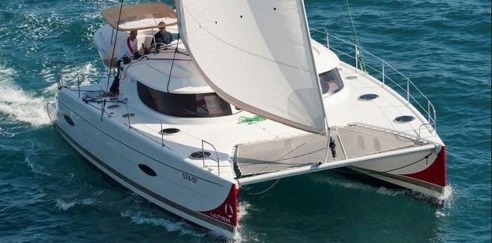 Catamaran Skipper training