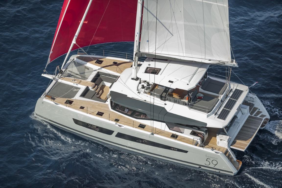 Samana 59 - Sailing Navigation
