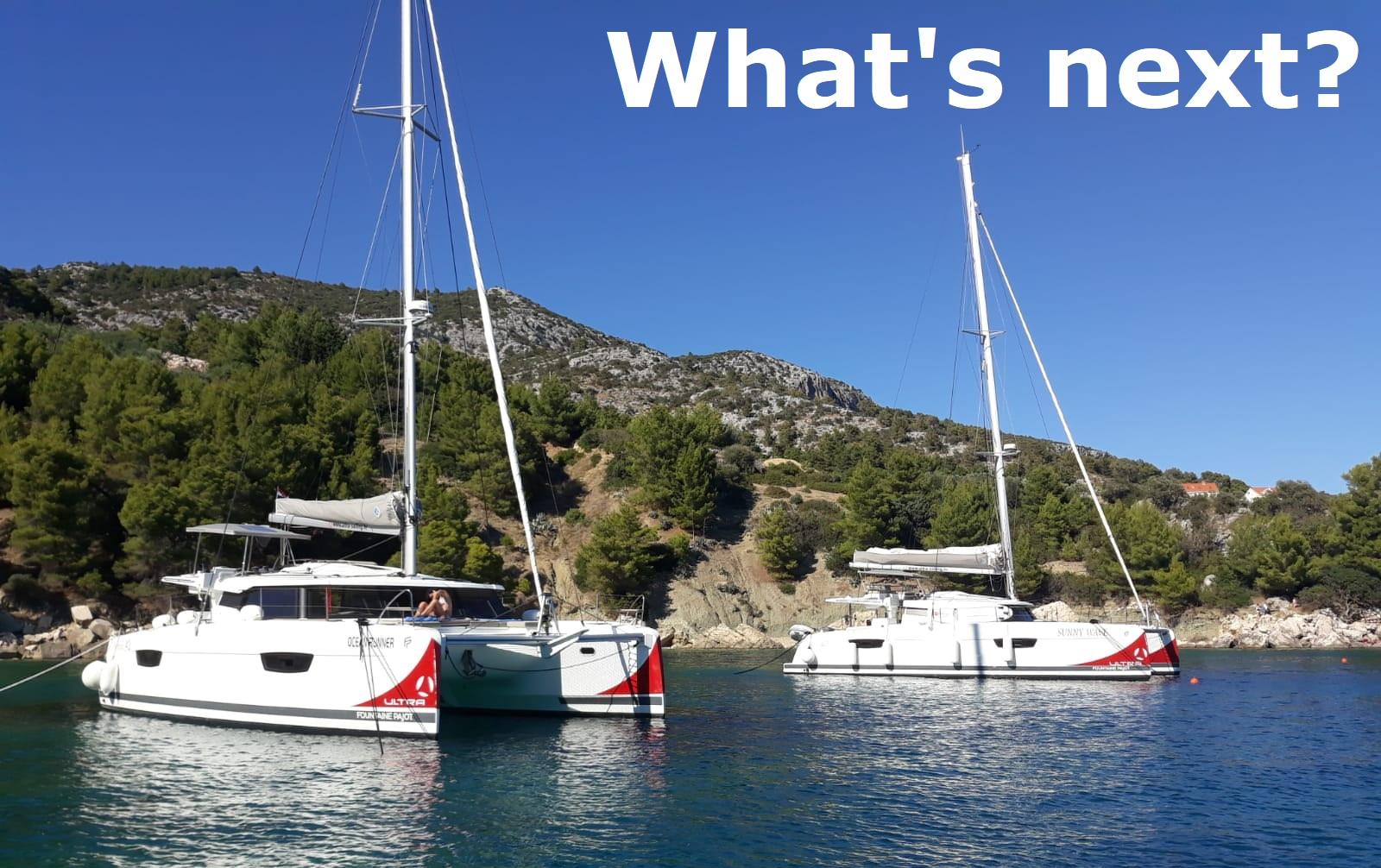 Astrea 42 & Saona 47 - Mooring Ultra Sailing